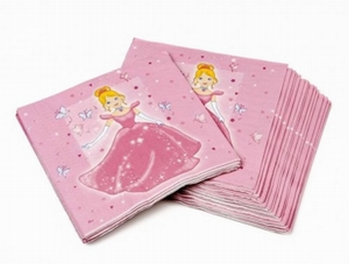Serviettes Princesse