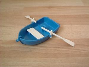 Barque bleu neuve