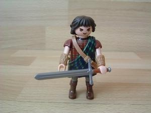Combattant irlandais highlander