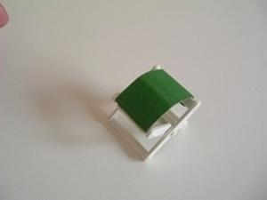 Chaise pliante vert