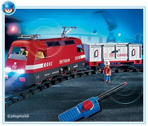 Playmobil Conducteur train marchandises radiocommandé 4010