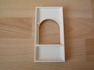 Mur pour fenêtre  12 x 6 cm