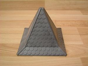 Toit carré  10 x 12,5 cm