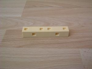 Barre jaune  9 x 1,5 cm