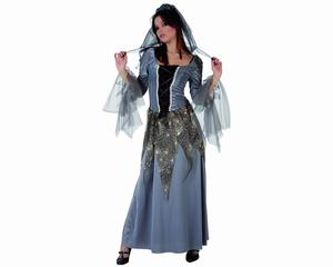Deguisement costume Démon mariée grise