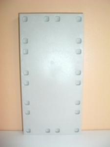 Plancher rectangulaire