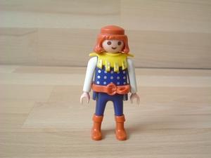 Chevalier bottes rouges