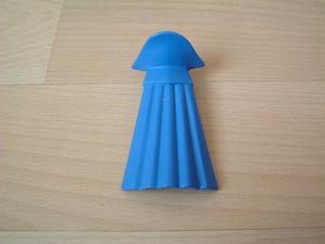 Cape avec col bleu