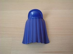 Cape avec col bleue