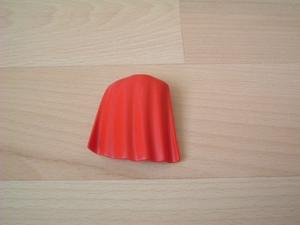 Cape courte rouge