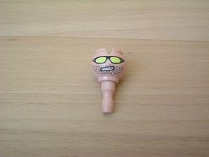 Tête double face avec lunette