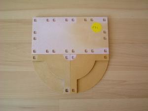 Perron diamétre 18 cm vendu en l'état