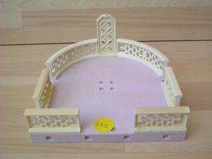 Terrasse du palais vendu en l'état