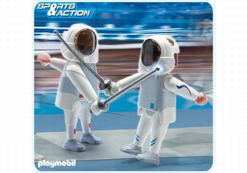 Playmobil 2 Escrimeurs