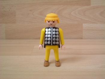 Chevalier pantalon jaune