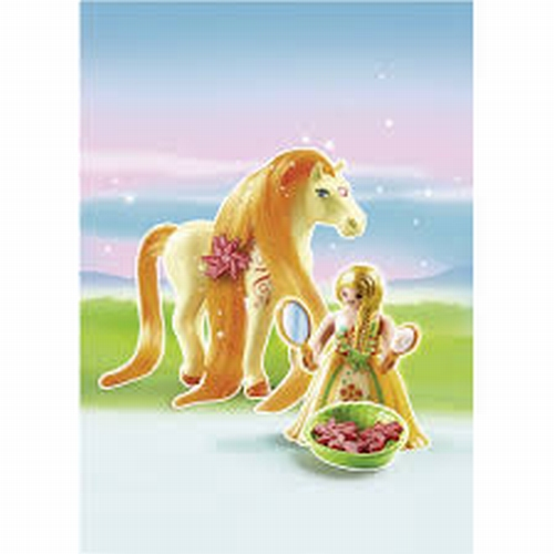 Playmobil Princesse Mimosa avec cheval 6168