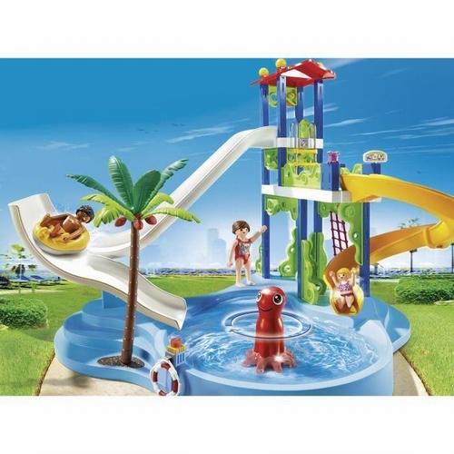 Playmobil Parc aquatique avec toboggans 6669