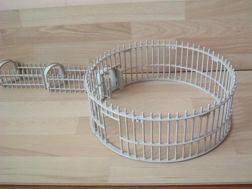 Cage pour fauves en l'état