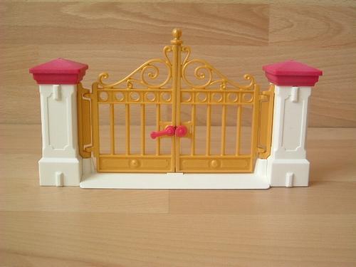 Cloture 1900 neuve portail