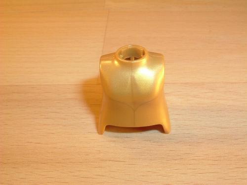 Buste de femme doré Neuf