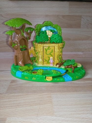 Le livre de la jungle polly pocket Disney 1998