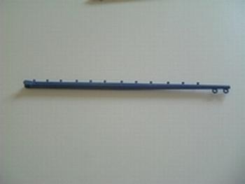 Baume arrière bleu