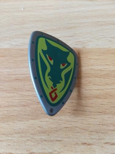 Bouclier dragon vert