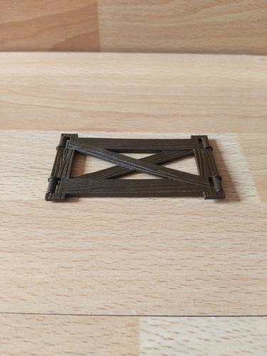 Barrière 8 x 4 cm