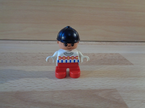 Enfant pantalon rouge