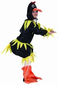 Deguisement Canard noir 10-12 ans SUR PLACE