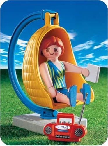 Playmobil Maman balancelle 3234