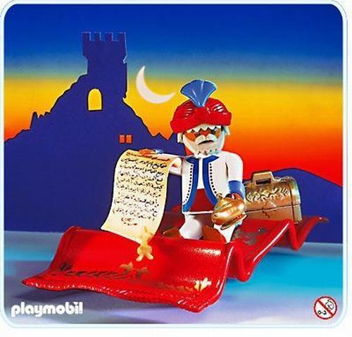 Playmobil Fakir tapis volant 3834