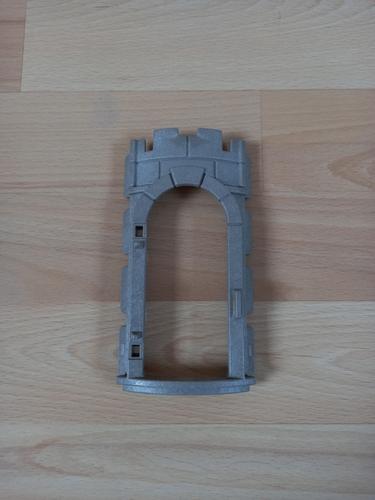 Mur arrondi pour porte