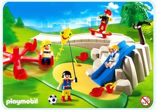 Playmobil Superset enfants aire de jeux 4132