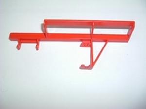 Barrière rouge pour support cloche