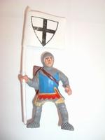 Chevalier drapeau blanc