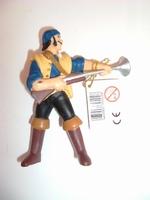 Pirate bleu fusil