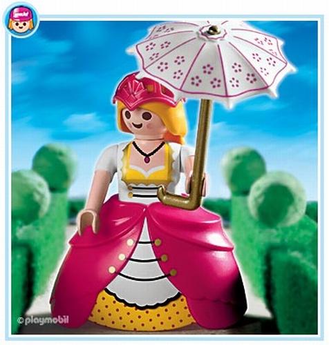 Dame de compagnie ombrelle 4639