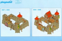 3667 + 3888 Agrandissement château