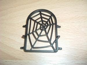 Fenêtre toile d'araignée noire