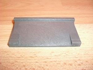 Trottoir gris foncé