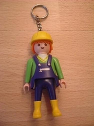 Porte clés Ouvrier de chantier