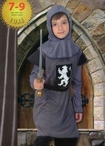 Deguisement costume Chevalier au lion 7-9 ans