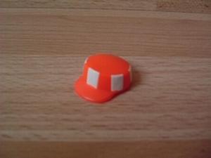 Casquette de chantier orange