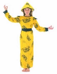 Deguisement costume Chinoise 7-9 ans