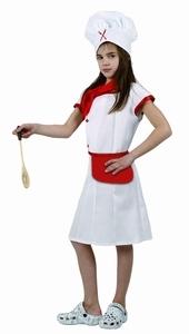 Deguisement costume Cuisinière 10-12 ans