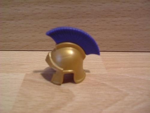 Casque Romain bleu Neuf