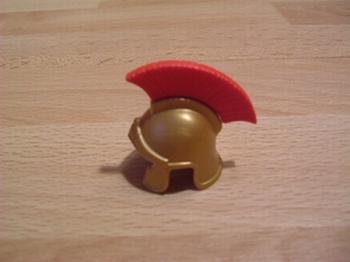 Casque Romain rouge Neuf