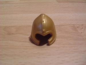 Casque chevalier doré Neuf