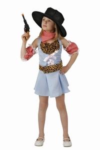 Deguisement costume Cow Girl  vachère 5-6 ans